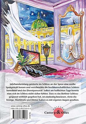 Das Berliner Schloßgespenst -Rückseite